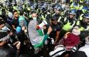 Londra'daki İsrail Karşıtı Gösteriye Polis...