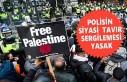 Londra'da 'Özgür Filistin' Sloganı Atan Polise...