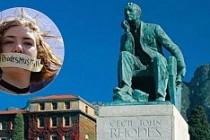 Oxford Üniversitesi'nde heykel tartışması