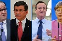 Dünya liderlerinden Suriye için Londra zirvesi