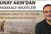 Sunay Akın, 'Çanakkale Hikayeleri' anlatacak