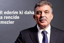 Abdullah Gül'den 'Boydak' açıklaması!