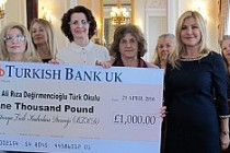 Britanya Türk Kadınları'ndan, anlamlı bağış