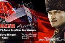CHP Britanya Birliği'nden, 19 Mayıs etkinliği