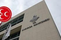 MHP'de Son Karar Anayasa Mahkemisi'nin