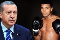 Erdoğan'dan Muhammed Ali'nin eşine taziye