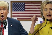 ABD'de seçimin kaybedeni Clinton ve anketler