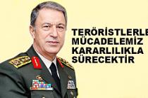 Genelkurmay Başkanı Akar'dan son dakika açıklaması