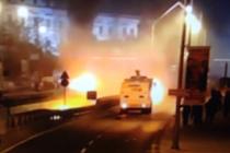 İstanbul Beşiktaş'ta büyük patlama