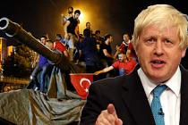 Boris Johnson'dan AB liderlerine 'Darbe' tepkisi
