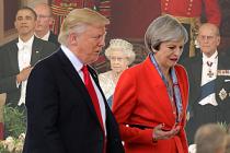 May'in, 'Trump daveti' ülkede krize yol açtı