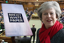 Brexit raporu parlamentoya sunuldu