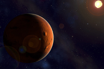 Mars'ta iki milyar yıllık volkanik!