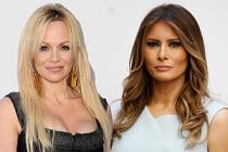 Pamela Anderson'dan First Lady Trump'a mesaj var
