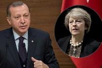 Erdoğan'dan May'a taziye mesajı