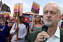 Londra'da Müslümanları hedef alan terör saldırısı protesto edildi
