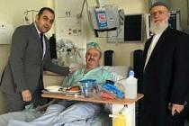 Yanan binadaki Türk aile hastanede