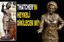 Margaret Thatcher heykeli tepki duvarına çarptı