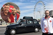 Şampiyon atletimize İngiltere'deki Türkler'den büyük destek