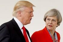 Trump, İngiliz Başbakan May'i hayal kırıklığına uğrattı