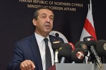 KKTC Dışişleri Bakanı Ertuğruloğlu açık konuştu