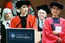 Oxford, Suu Çii'ye verdiği nişanı geri alacak