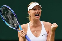 Sharapova'nın doping cezası sonrası ilk kez şampiyonluğu