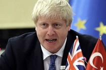 İngiltere Dışişleri Bakanı Johnson'dan Türkiye açıklaması