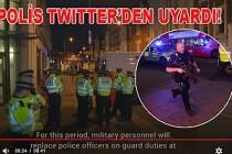 Londra kent merkezinde silah sesleri