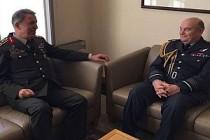 Genelkurmay Başkanı Akar'ın İngiltere temasları