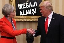 Trump, İngiltere'ye gelmeyeceğini twitterden duyurdu