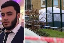 Londra'da bıçaklı saldırıda ölen Hasan Özcan için basın açıklaması
