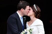 """Kraliyet Düğününde BBC'den Prenses Eugenie için """"Gögüs"""" Gafı"""
