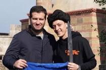 Mesut Özil, Amine Gülşe ile Diriliş Ertuğrul'un setini ziyaret etti