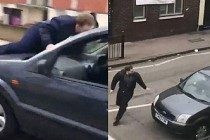 Londra'da cuma namazı sırasında çekiçli saldırı