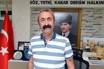 """Tunceli Belediye Başkanı Maçoğlu'ndan """"Dersim"""" açıklaması"""