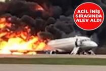 Yanan uçakta ölü sayısı 41'e çıktı