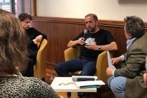 Bosnalı Yazarlar Meskovec ve Sehic, Londra Yunus Emre Enstitüsü Söyleşisinde
