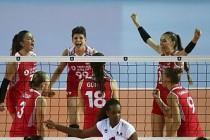 A Milli Kadın Voleybol Takımı Fransayı Yenerek 4'te 4 yaptı
