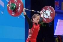 Şaziye Erdoğan, dünya halter şampiyonu