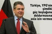 Eski Almanya Dışişleri Bakanı Gabriel'den Çarpıcı 'Barış Pınarı' Yorumu