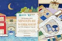 Osmanlı Minyatürü ile Londra'yı Anlatmak