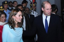Prens William ve Kate Middleton Pakistan'da