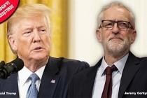 Trump, İngiltere seçimlerine parmak attı!