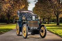 Fiat Londra klasik otomobil yarışında