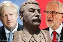 İngiltere Başbakanı Boris Johnson, rakibini Stalin'e benzetti