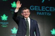 """Ahmet Davutoğlu, """"Gelecek Partisi""""ni tanıttı"""