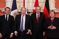 Dört Lider Suriye İçin Bir Araya Geldi