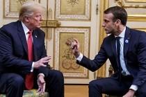 Trump, Macron'a sert çıktı: Çok saygısızca