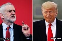 """Jeremy Corbyn'den, Trump'ın """"Rezalet"""" Barış Planına Tepki"""